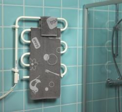 Полотенцесушитель электрический ADAXHKT163 WS