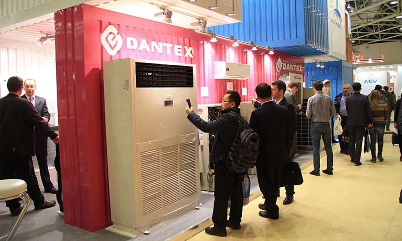Климатическое оборудование Dantex на выставке Мир климата 2016